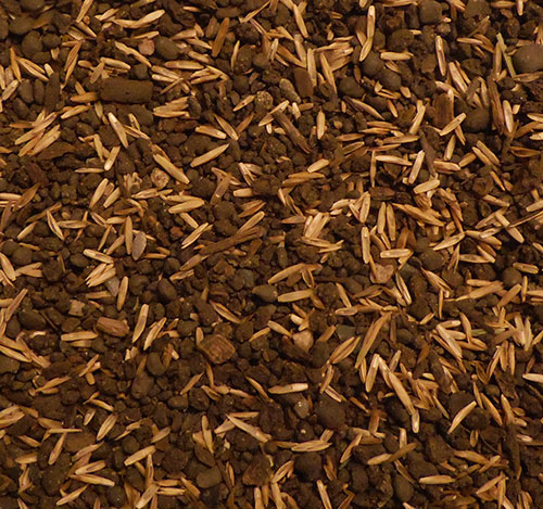 Granular Compost Top-dressing + SRPR Seed 100% Organic Turf Product